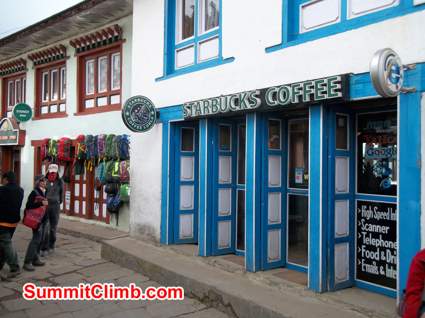 Starbucks Coffee at Lukla