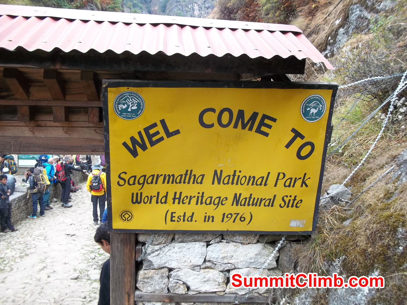 Welcome to Sagarmatha National Park.