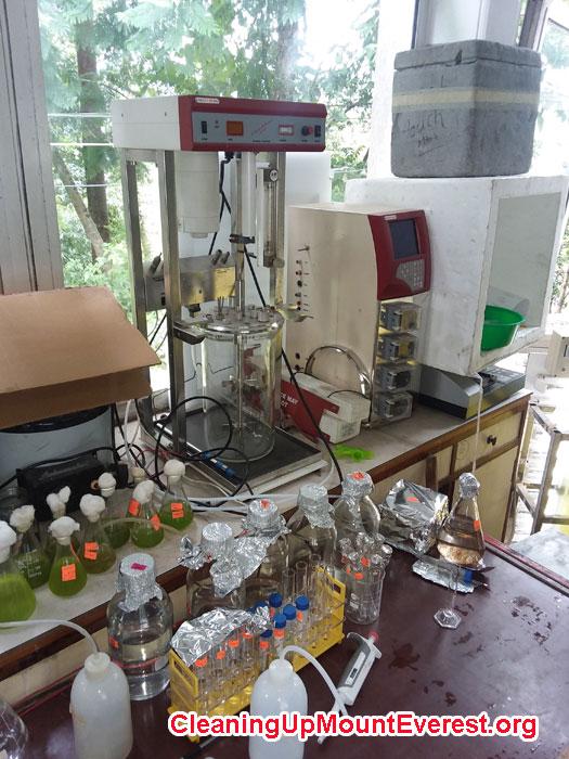 Biogas Laboratory at Kathmandu University