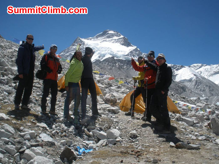 Moving from ABC to Camp 1. Photo Pemba Sherpa