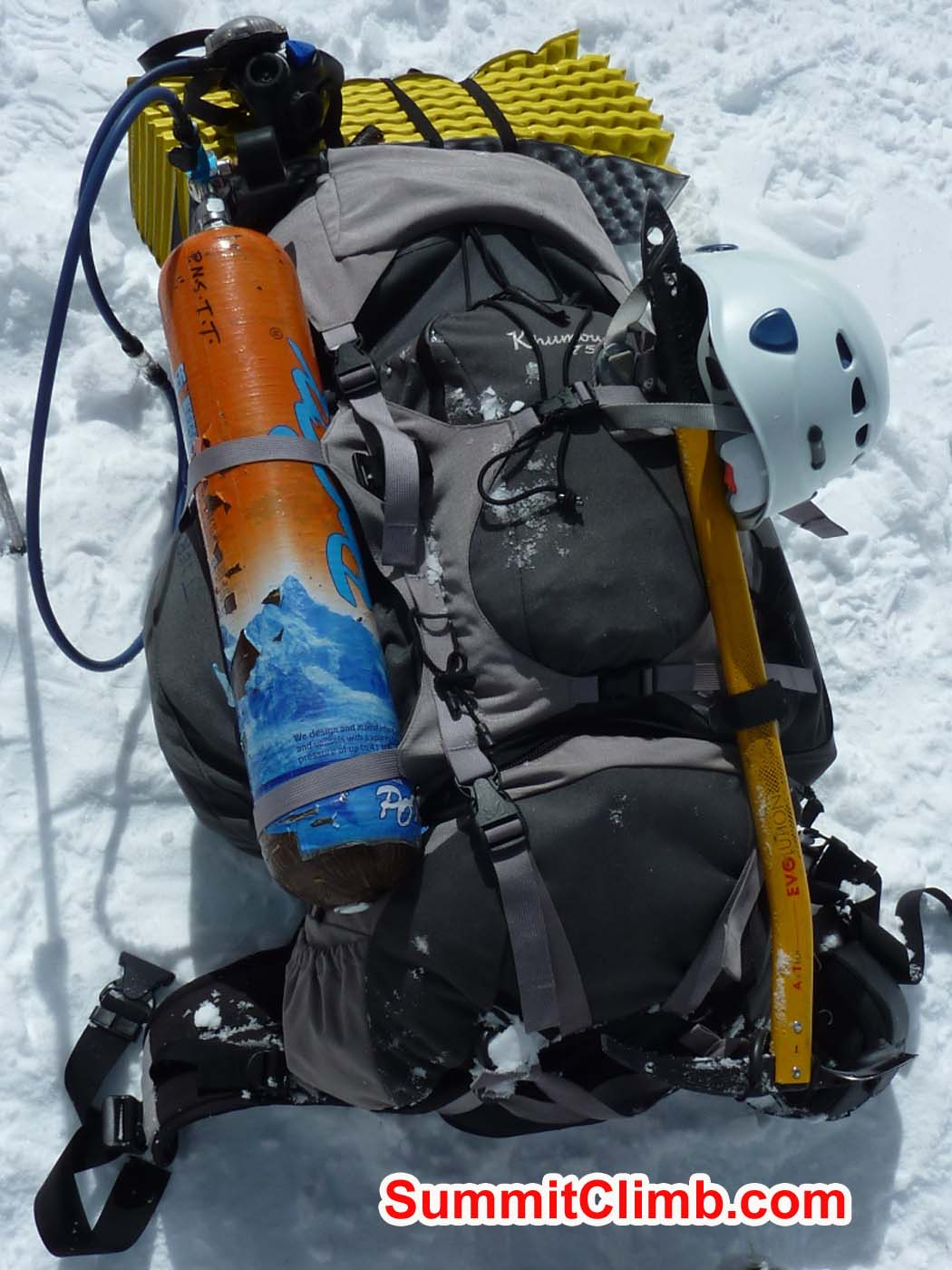 Summit rucksack. Photo by Pascal Tiercelin