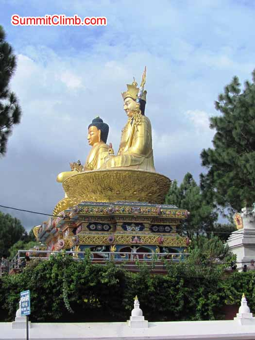 Buddha statues near SummitClimb office in Kathmandu. Troy Bacon Photo