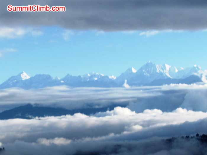 Mount Dorje Lhakpa 7000 metres seen from the Arniko Highway. Troy Bacon Photo