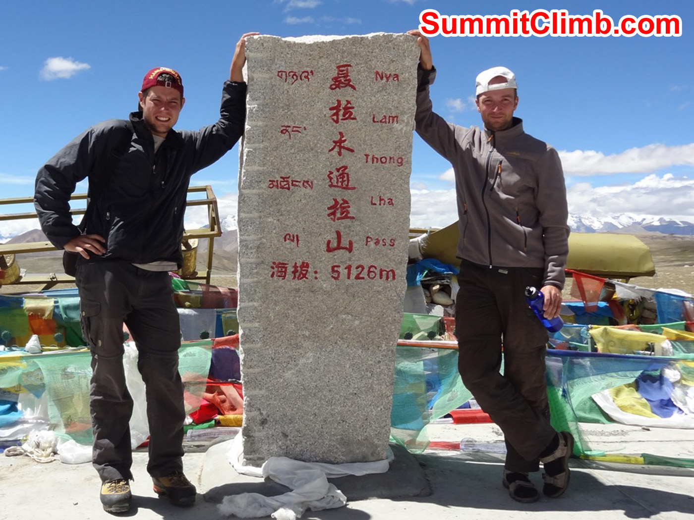 La Lung Leh Pass at 5226m. Foto by Stefan Simchen