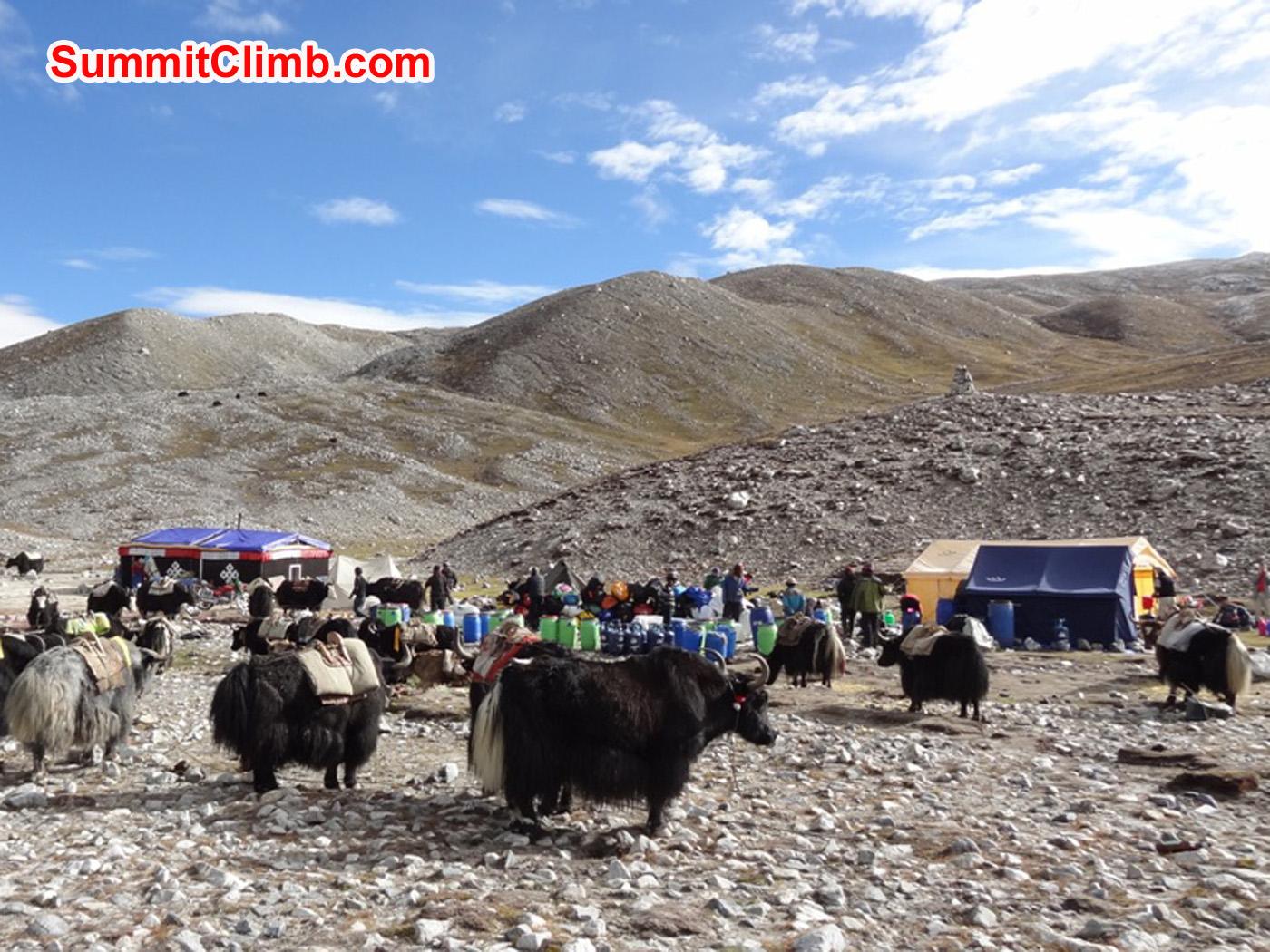 Logistik auf Tibetisch. Foto by Uwe Werner