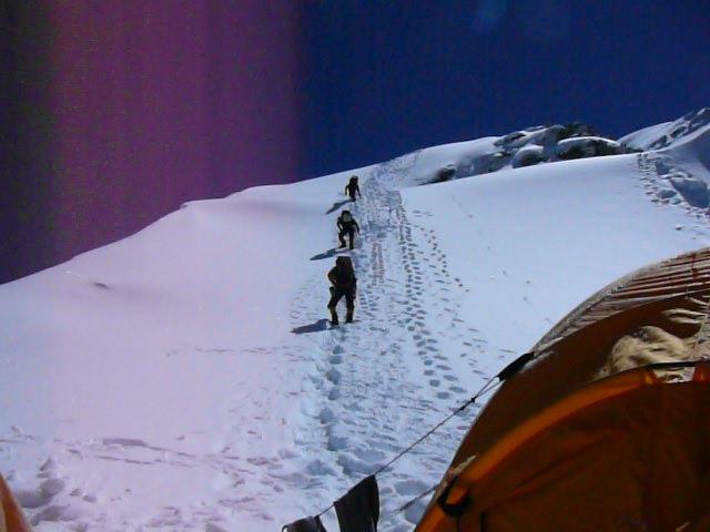 Team Germany startet zum Gipfel Foto by Ch.Muendl