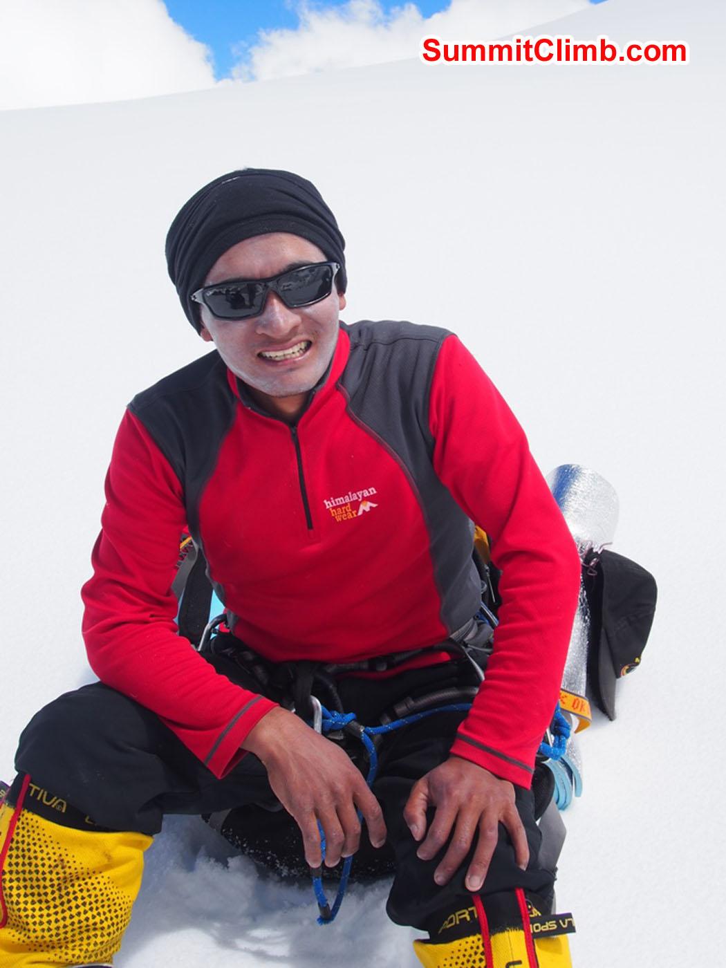 Ang Pasang Sherpa. Photo by Alan Barclay