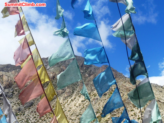 prayer flags photo by matt