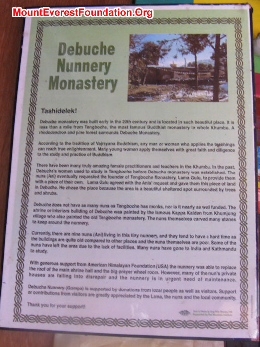 Article of Deboche Nunnery. Photo Murari Sharma
