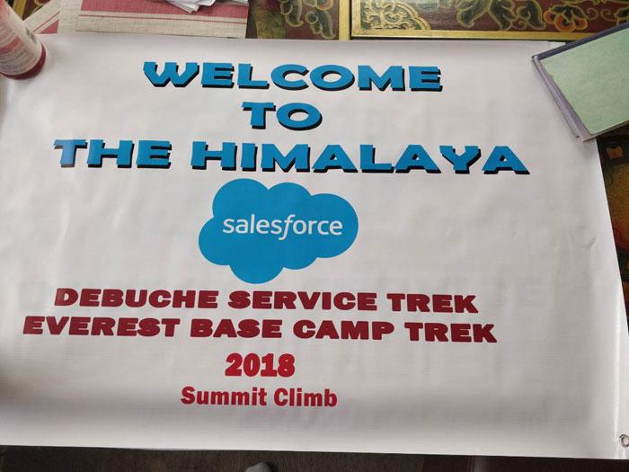banner for deboche trek