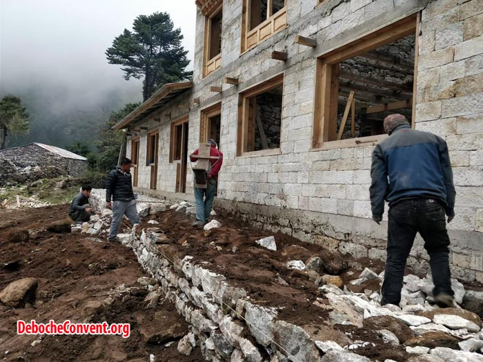 leveling in deboche convent
