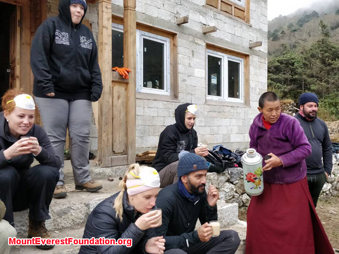 Enjoying day with Deboche team with Future monk