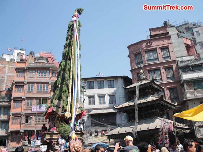 Rain god iin Kathmandu. Photo Scott Younghusband