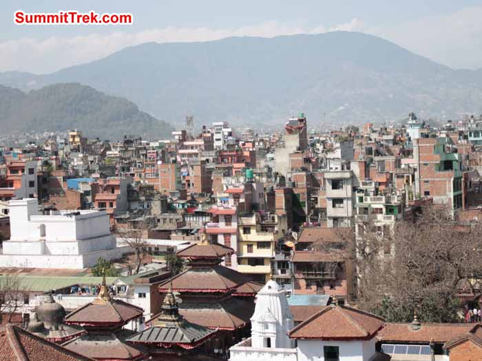 Kathmandu Valley view. Photo Scott Younghusband