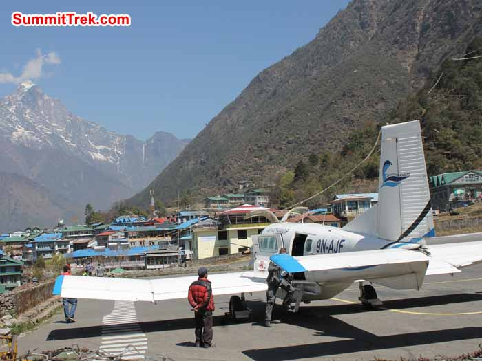 Lukla airport. Photo Scott Younghusband
