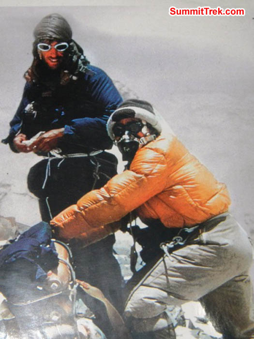 Hillary and Tenzing summit Everest. Sangeeta Sindhi Photo