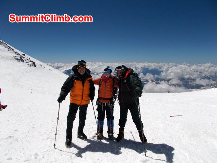 team members at elbrus