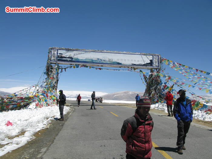The gateway to Everest National Park. From here it is a short drive up to Chines basecamp at 5200 metres/17,000 feet. Photo Rares Voda