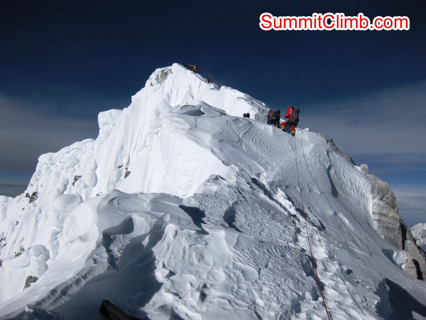 Almost to the Top of Everest - Photo Mia Graeffe