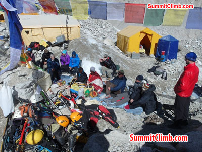 everest climb, thukla
