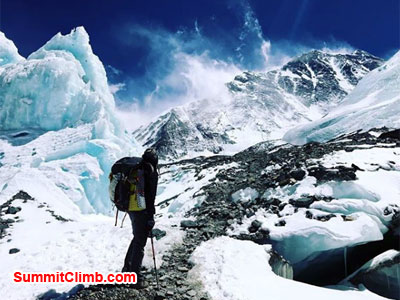 everest climb, abc