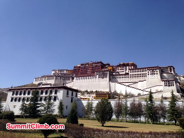 Lhasa Palace.