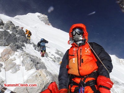 everest climb northcol
