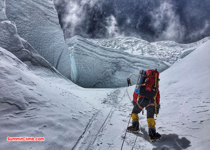 everest climb, northcol