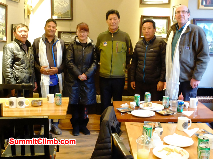 SummitClimb Team meets China Tibet Mountaineering Association - CTMA