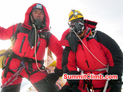 Everest summit on May 23, 2018