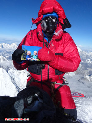 everest climb summit northcol