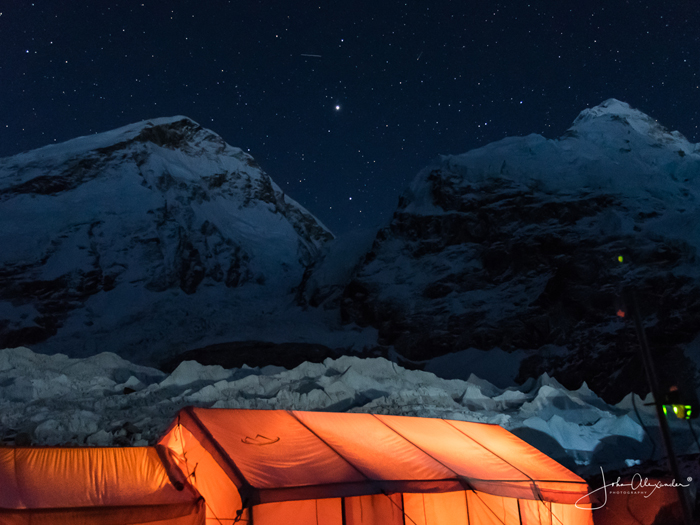 Night at Summitclimb Everest basecamp