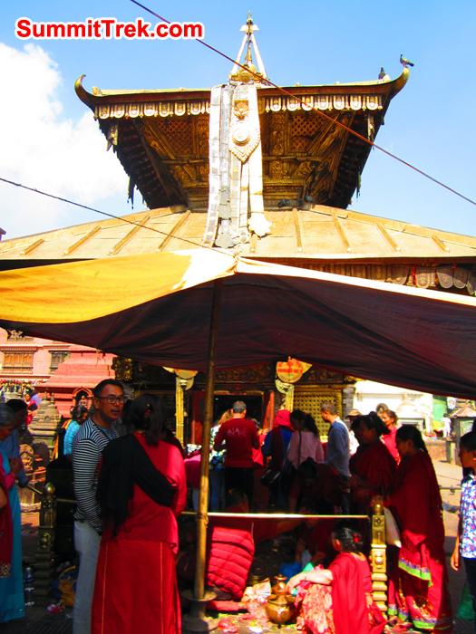 One of the Hindu Temple at ShoyambhuNath