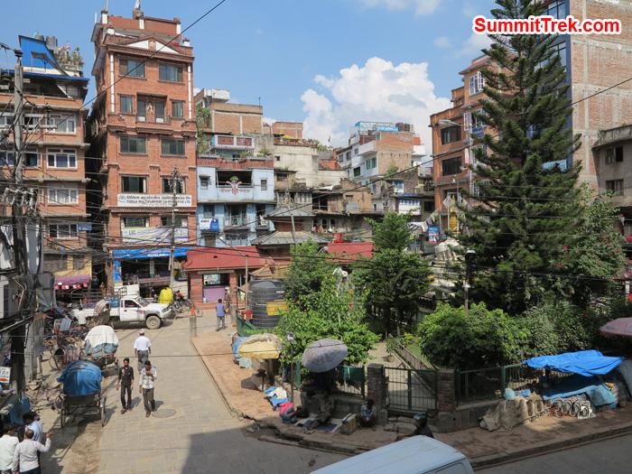 Local Part of Kathmandu City. Photo Matthew Slater