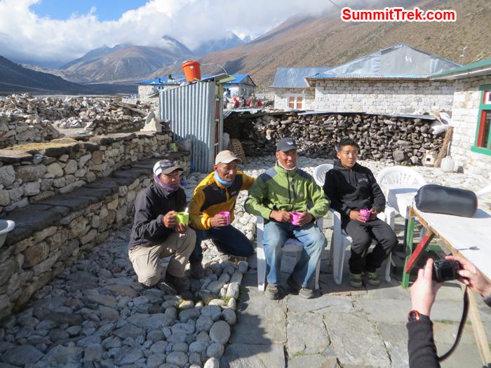 SummitClimb Super Sherpa in Periche. Photo by Daniel Haraburda Joseph.