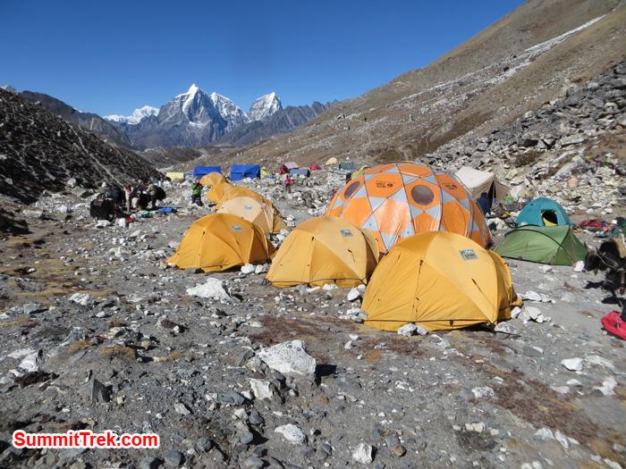 Island Peak base camp. Photo by Daniel Haraburda Joseph