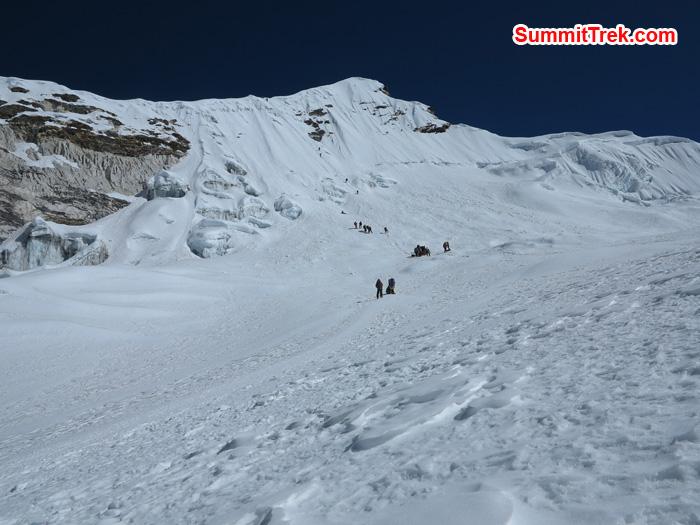 Way to Summit. Photo by Matthew Slater