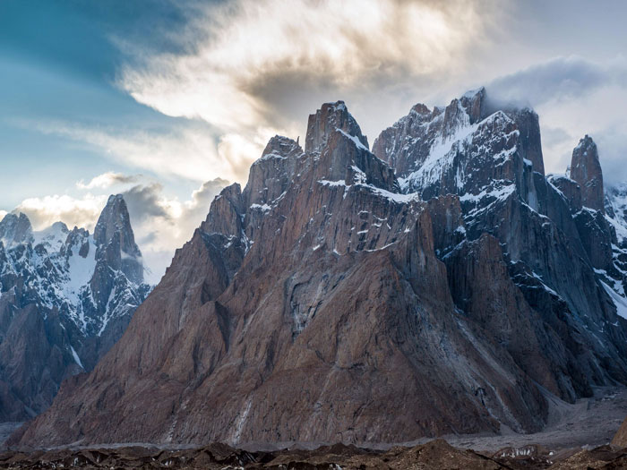 Amazing views of Trango Tower