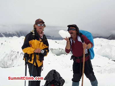 Jake and Jangbu on the summit