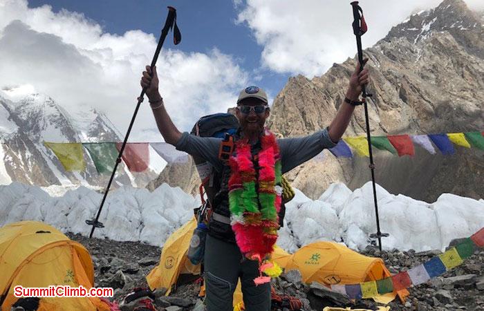 Camp 3 at 7350m