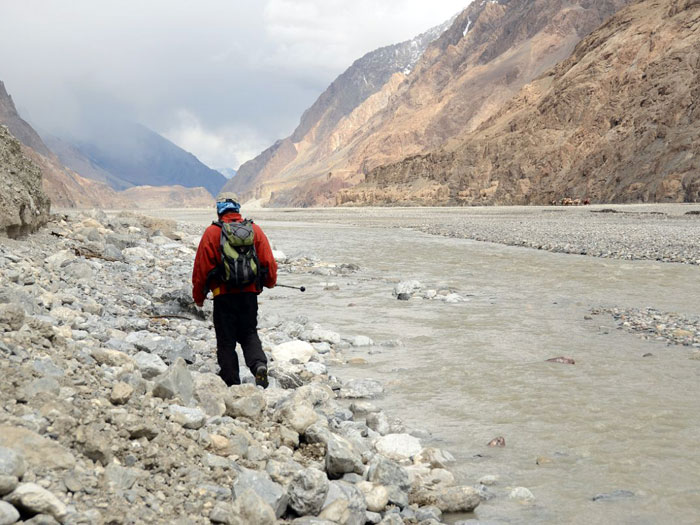 k2 river to Jola camp