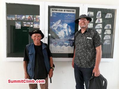 Broad Peak camp 1