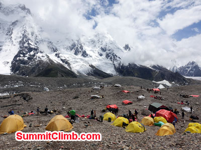 Broad Peak camp 1