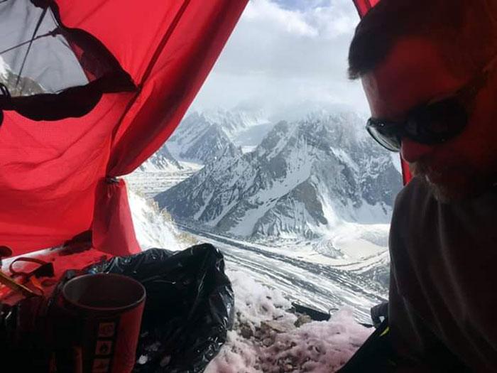 mark at high camp