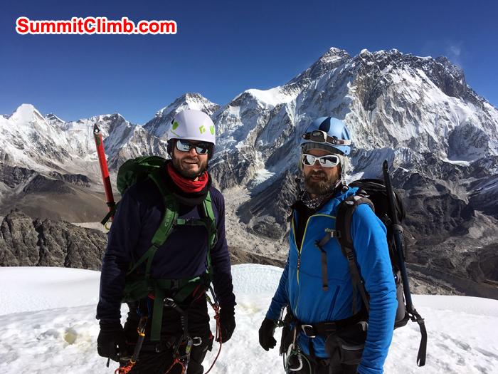 lobuche trek, lobuche training, lobuche peak, lobuche climbing peak