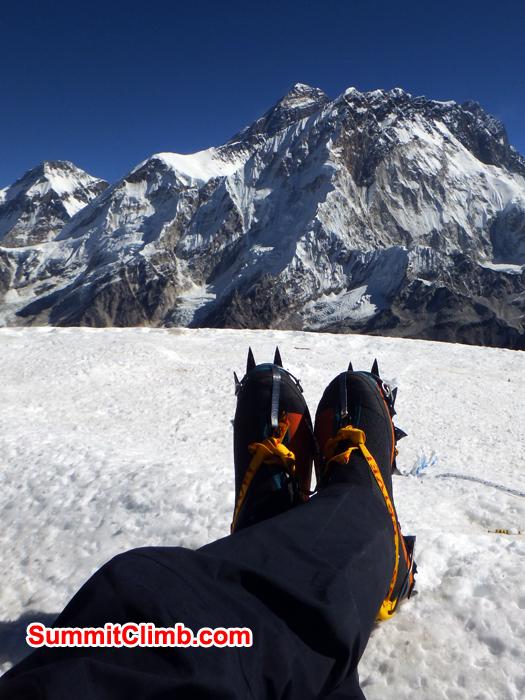 Everest View from Lobuche. Photo Warwick Van Aardt