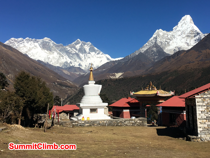 Great view shot from Tangboche. Photo Andrew Turvey