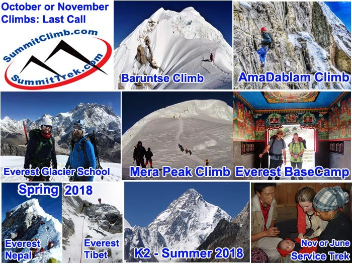 Join Us Now or Never: Nepal Peaks and Paths: 30 - 60 Day Deadline