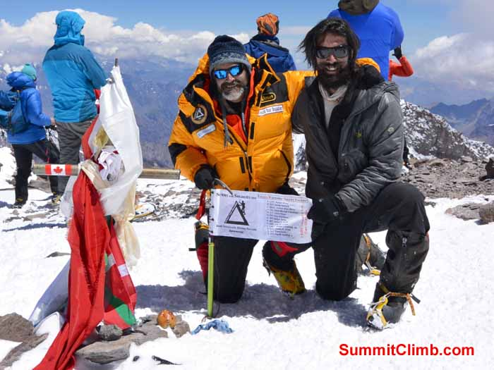 Summit Photo. Summitclimb
