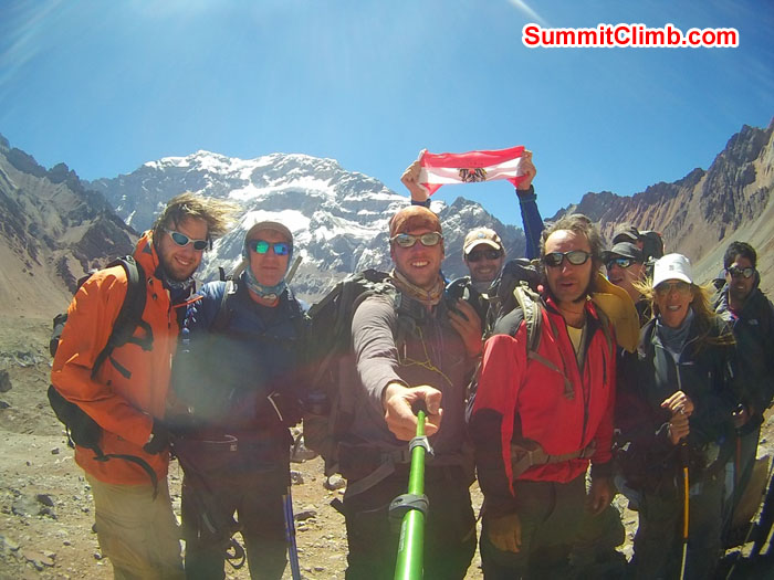 Team members Aconcagua